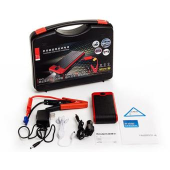Harga T6 High quality 12000mAh Car Jump Starter multi-functional AUTO emergency start power bank Petrol/Diesel Vehicle battery pack
