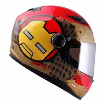 Harga Marvel Full Face Helmet Kawaii Collection Iron-man (Red/Gold)