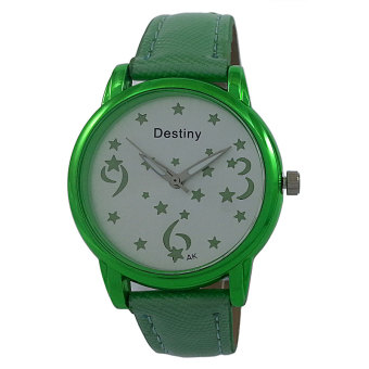 Harga Destiny Luminous Stars Women's Quartz Watch (Green)