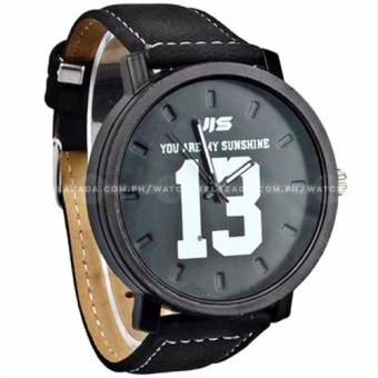 JIS #13 Fashion Statement You Are My Sunshine Leather Strap Watch Price Philippines