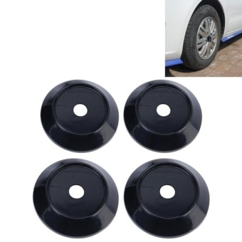 4 PCS Plastic Car Styling Accessories Car Emblem Badge Sticker Wheel Hub Caps Centre Cover - intl Price Philippines