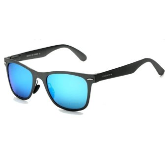 2016 Summer VEITHDIA Aluminum Magnesium Brand Designer Men Sunglasses Polarized Lens Eyewear Sun Glasses (Blue) - Intl Price Philippines