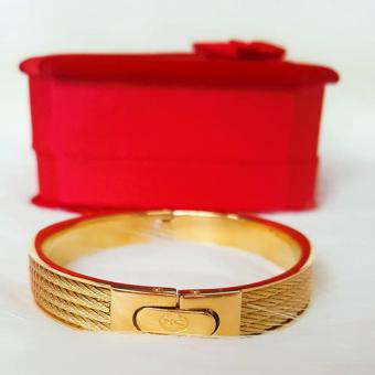 Harga Valentino Collection Charriol Bangle gold