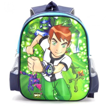 Harga Happy Kids Unisex Kids Schoolbag Backpack Outdoor Bag Anime Design