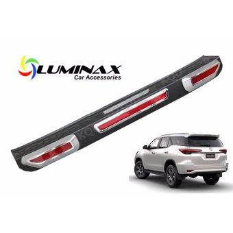 Harga Toyota Fortuner 2016+ Car Rear Bumper Plate Cover Door sill Protective and high quality rear bumper
