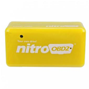 Harga 2PCS Plug and Drive NitroOBD2 Performance Chip Tuning Box for Benzine Cars Nitro OBD2
