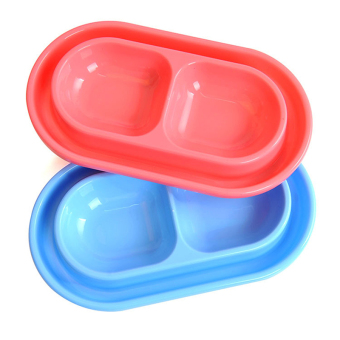 Water Food Feeder Pet Dog Cat Dish Double Bowl Anti Ant Feeding Tool - intl Price Philippines