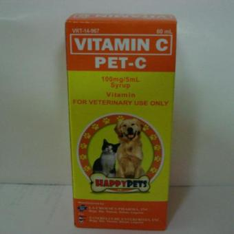 Pet-C Vitamin C Syrup Dogs/Cats 60ml Set of 2 Price Philippines
