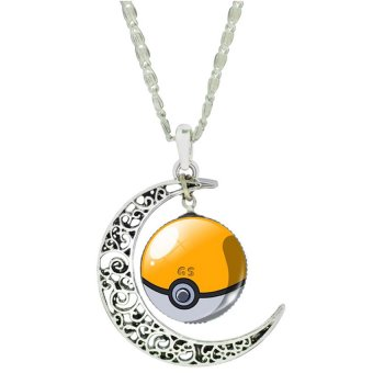 Women Fashion Pokemon Pokeball Pendant Necklace (E) Price Philippines