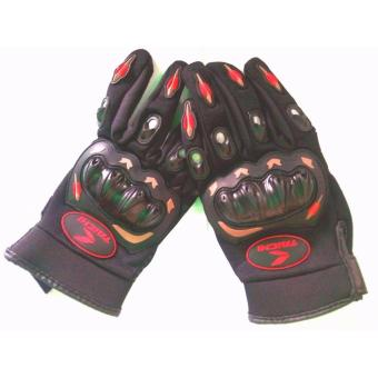 Harga TAICHI GLOVES (L) BLACK/RED