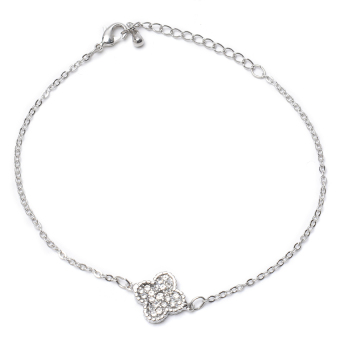 Athena & Co. Lucky Clover Bracelet (Silver) Price Philippines