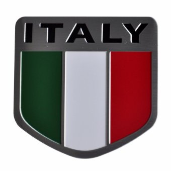 Italy Flag Car Alloy Emblem Price Philippines