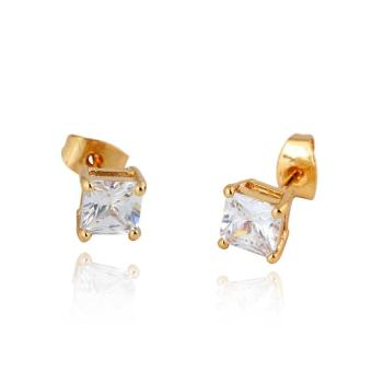 Harga VAKIND Earring Woman Ear Stud 18K Gold Filled Hot