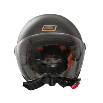 Harga Origine Italy Open Face 00021 Mio Elvis Helmet (Black)