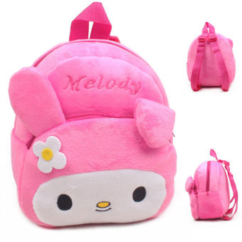 Baby Toddler Kids Cartoon Rabbit Backpack Schoolbag Shoulder Bag Pink - intl Price Philippines