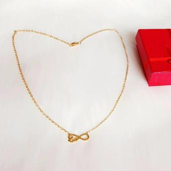 Harga Valentino Collection love Infinity necklace