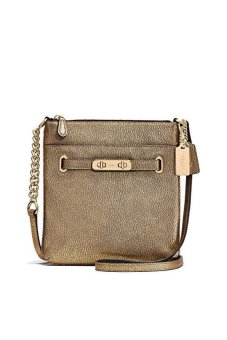 Coach Metallic Swingpack Crossbody Shoulder Bag, 36502 /ship fromUSA - intl Price Philippines