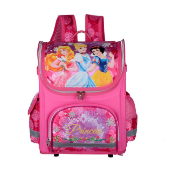 Hely TOP Kids Girls Cartoon Schoolbag High Quality Primary School Pupils Backpack - Intl Price Philippines
