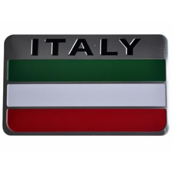 Italy Flag Car Alloy Emblem Rectangle bpl Price Philippines
