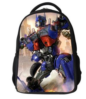 2016 upgrades transformers schoolbag boy kids school bag cartoon child bag children backpack - intl Price Philippines