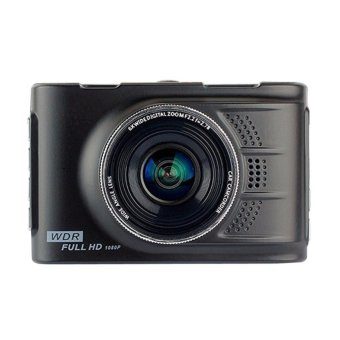 Harga Car Camera DVR Cam Full HD 1080p Recorder(Black)