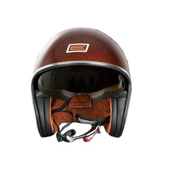 Harga Origine Italy Open Face 00024 Sprint Rootberry Helmet (Glittered Brown)
