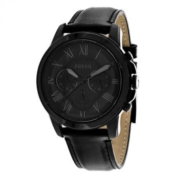 Fossil Grant Chronograph Black Dial Watch(FS5132) - intl Price Philippines