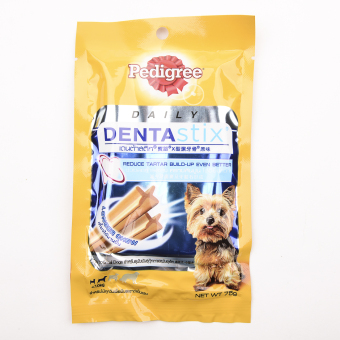 Pedigree Denta Stix small 6's 75gms ( 6 Packs per box)