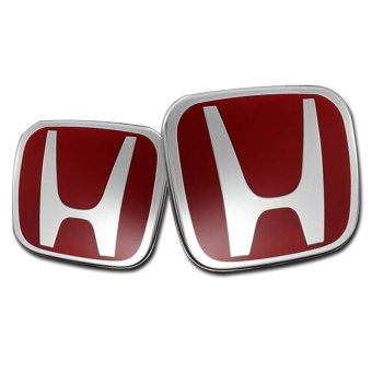 Harga Honda Red H Emblem for Honda Civic FD 2006-2011 Model