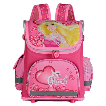 Hely TOP Kids Girls Cartoon Schoolbag High Quality Primary School Pupils Backpack (Princess) - Intl Price Philippines