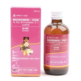 LC Vit Pet Multivitamins in Syrup 120ml Price Philippines
