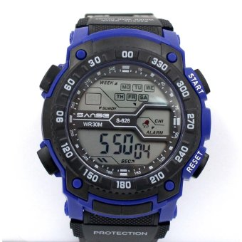 Sanse Water Resistant Uni-sex Watch TPU resin Strap-628 Dark Blue Price Philippines
