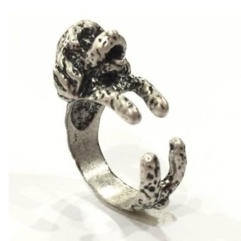 Lieblings Schatz Poodle Ring (Silver) Price Philippines