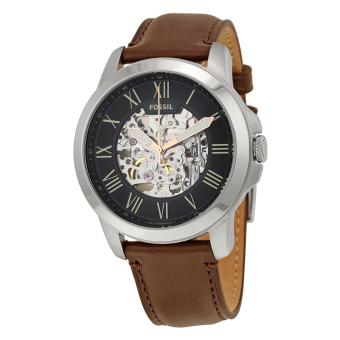 Fossil Watch Grant Automatic Brown Stainless-Steel Case Leather Strap Mens NWT + Warranty ME3100 Price Philippines