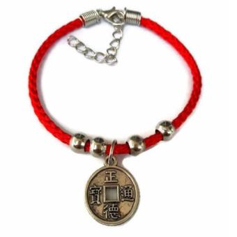 Be Lucky Charms Feng Shui Thread Adjustable Lucky I-Ching Coin Price Philippines