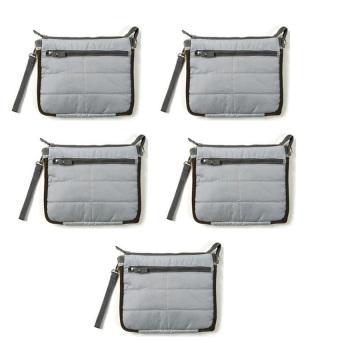 Gadget Pouch Set of 5(Gray) Price Philippines