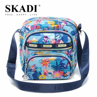 Harga Skadi 664 Korea Ladies Shoulder Bag (Blue Mermaid)