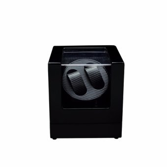 Watch Winder ,LT Wooden Automatic Rotation 2+0 Watch Winder Storage Case Display Box (BL) - intl Price Philippines