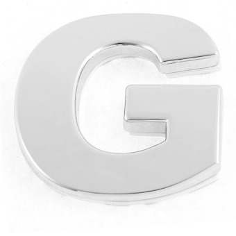 Auto 3D Letters G Sticker DIY Number Car Body Sticker Car Badge Emblem Price Philippines