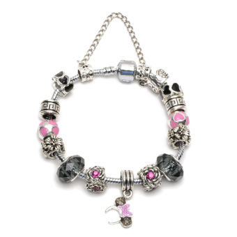 Athena & Co. Minnie Charm Bracelet (Pink/Black) Price Philippines