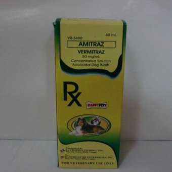 Vermitraz Amitraz Dog Mange Treatment Concentrate Wash 60ml Price Philippines