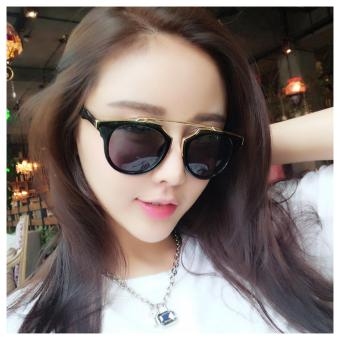 2017 Fashion Retro Woman's Polarized Cat Eyes Sun glasses 520 (Black) - intl Price Philippines