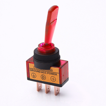Harga Flick Toggle Switch Red