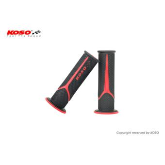 Koso Meteor Universal Handle Grip (Black/Red) Price Philippines