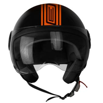 Harga ORIGINE 00093 Neon Street Matte Orange Open Face Helmet (2017 Collection) - XL