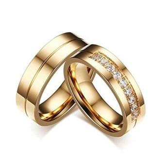 Jewels & Me Jean Couple Wedding Ring (Gold) Price Philippines