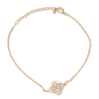 Athena & Co. Lucky Clover Bracelet (Gold) Price Philippines