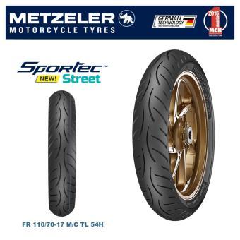 Metzeler Sportec Street TubelessFront Tyre- 110/70--17M/C (54H)