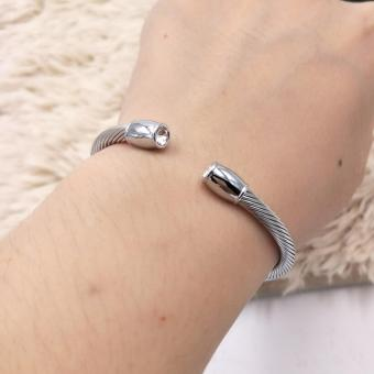 Harga Fantasy Couple Jewelry Stainless Bangles AC10024
