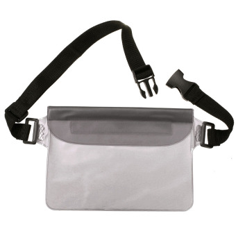 Bang Waterproof Waist Bag Underwater Sport Pouch Dry Case Fanny Packpocket Wallet (Black) - intl Price Philippines